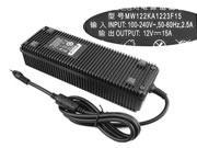 AULT 12V 15A AC Adapter, Laptop Charger, 180W Laptop Power Supply, Plug Size 5.5 x 2.5mm