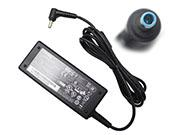 CHICONY 19V 3.42A AC Adapter, Laptop Charger, 65W Laptop Power Supply, Plug Size 4.5 x 2.8mm
