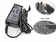 Chicony 19V 3.42A AC Adapter, Laptop Charger, 65W Laptop Power Supply, Plug Size 4.0 x 1.7mm