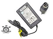 CWT 12V 5A AC Adapter, Laptop Charger, 60W Laptop Power Supply, Plug Size