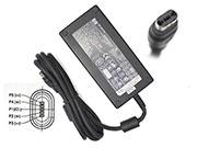 HP 19V 9.5A AC Adapter, Laptop Charger, 180W Laptop Power Supply, Plug Size