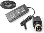 LISHIN 24V 5.42A AC Adapter, Laptop Charger, 130W Laptop Power Supply, Plug Size