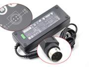 LISHIN 24V 5A AC Adapter, Laptop Charger, 120W Laptop Power Supply, Plug Size