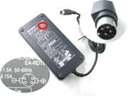 SHARP 19.5V 6.15A AC Adapter, Laptop Charger, 120W Laptop Power Supply, Plug Size