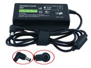 SONY 16V 3.75A AC Adapter, Laptop Charger, 60W Laptop Power Supply, Plug Size 6.5 x 4.4mm