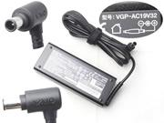 SONY 19.5V 4.7A AC Adapter, Laptop Charger, 92W Laptop Power Supply, Plug Size 6.5x4.4mm