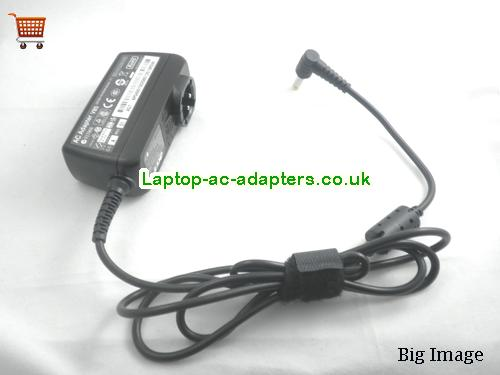 image 2 for  Genuine Charger For Acer Aspire One A110 A150 D150 D255 D257 D260 KAV10 ADP-40TH 19V 2.15A