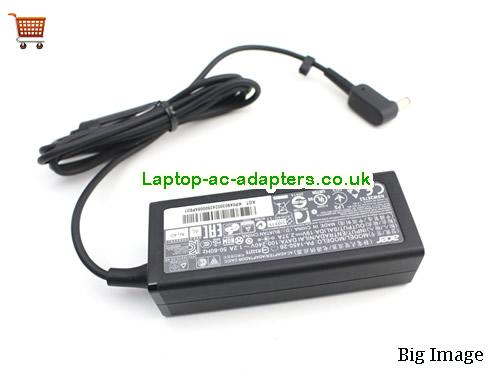image 1 for  New Genuine ACER Aspire ES1-512 ES1-711 Aspire ADP-45HE B A13-045N2A KP.0450H.001 Laptop Adapter Charger
