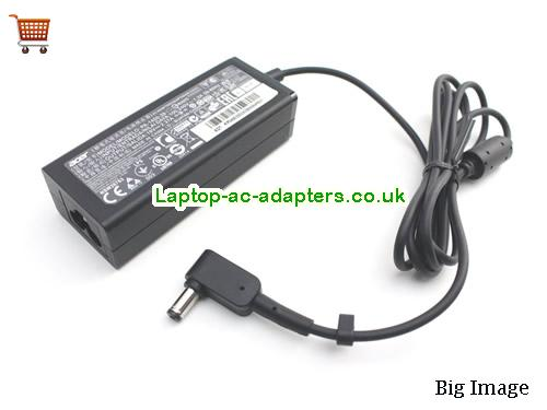 image 2 for  New Genuine ACER Aspire ES1-512 ES1-711 Aspire ADP-45HE B A13-045N2A KP.0450H.001 Laptop Adapter Charger