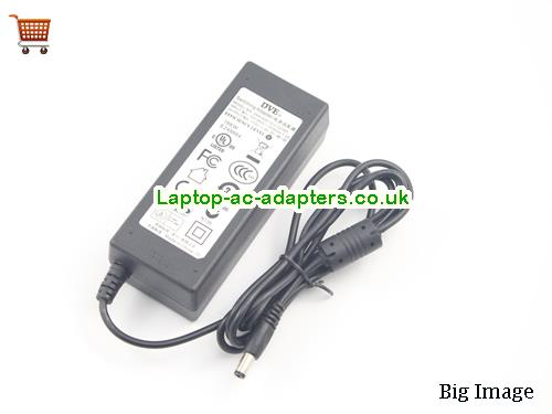 image 1 for  Tongfang Laptop AC Adapter 12V 3A 36W  DVE12V3A36W-5.5x2.1mm