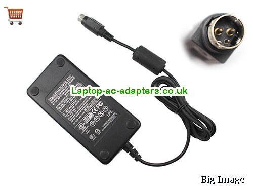 image 1 for  Genuine EDAC EA1050D-240 AC Adapter For Printer 24v 2.1A Round With 3 Pin