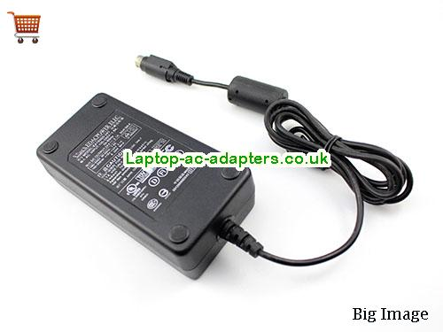 image 2 for  Genuine EDAC EA1050D-240 AC Adapter For Printer 24v 2.1A Round With 3 Pin