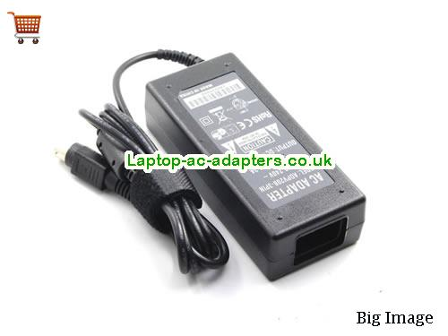 image 2 for  Star Micronics Laptop AC Adapter 24V 2.5A 60W  LCD24V2.5A60W-3PIN