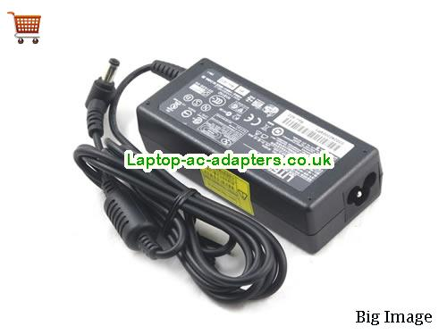 image 2 for  65W AC ADAPTER For TOSHIBA L300 L350 L40 L450 Series PA3380E-1ACA