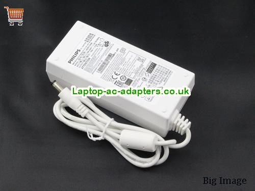 image 1 for  Genuine Philips ADPC1936 Ac Adapter For LCD LED Monitor 19v 2.0A White