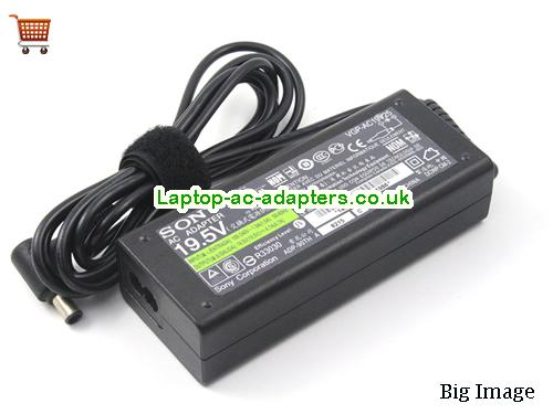 image 2 for  Genuine SONY 19.5V 4.7A Laptop Charger VGP-AC19V23 VGP-AC19V26 VGP-AC19V24