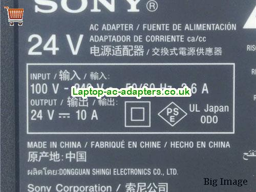image 2 for  ACDP-240E02 SONY XBR65X900E TV AC Adapter  1-493-117-31 1-493-117-51