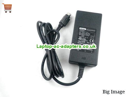 image 3 for  TEAC PS-P5120 5V 1A 5W 12V 1.2A Ac Adapter 4pin