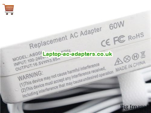 image 2 for  Universal A600L Adapter Replace For Apple A1278 A1181 A1184 A1185 A1344 A1330 A1342